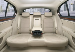 2011 Skoda Superb interior rear