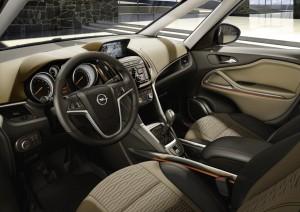 2012 Opel Zafira Tourer interior cockpit