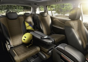 2012 Opel Zafira Tourer interior seating
