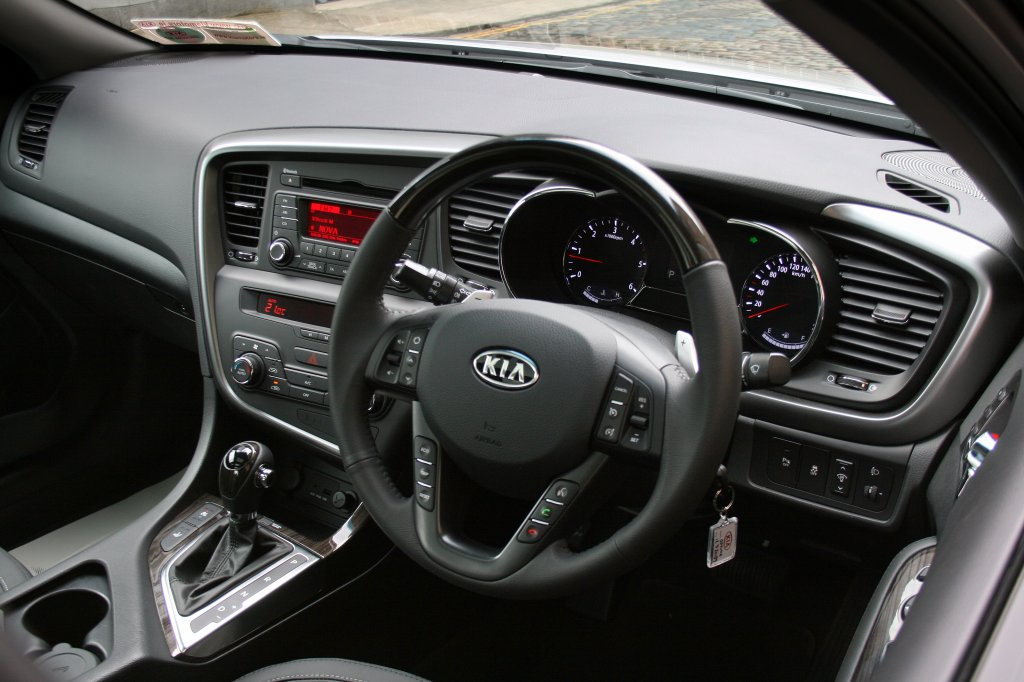 2012 Kia Optima Interior Cockpit