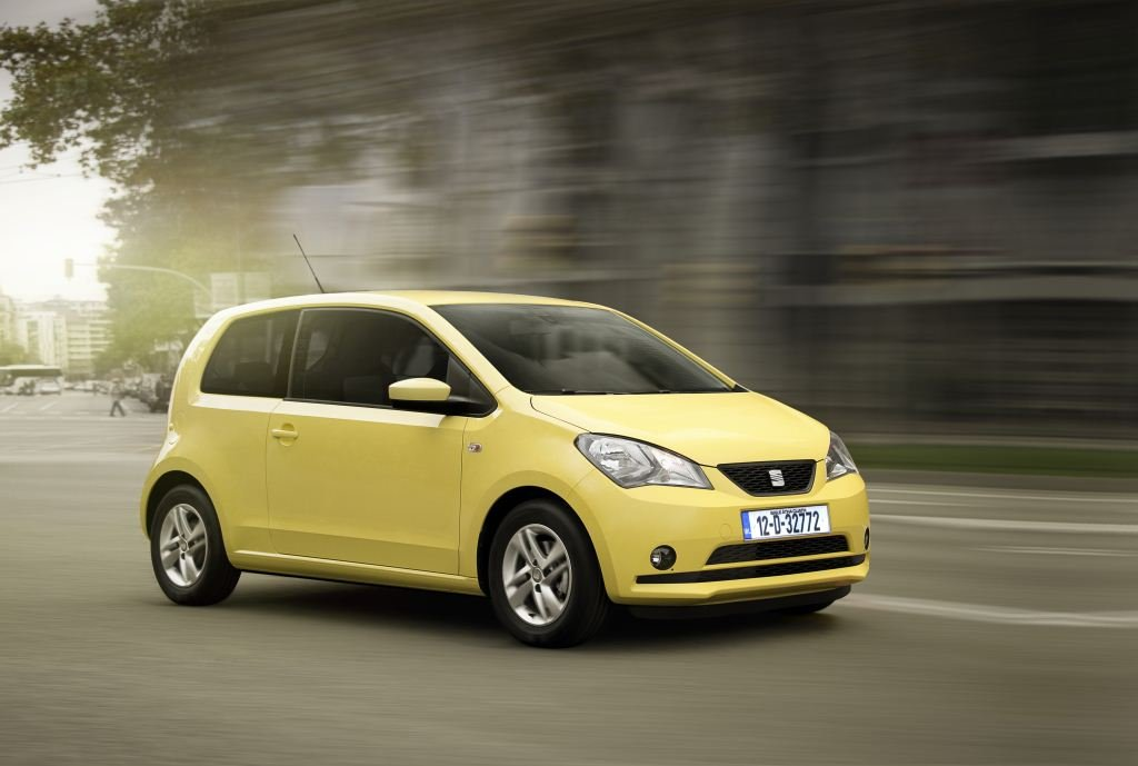 seat mii city car launches in ireland. Black Bedroom Furniture Sets. Home Design Ideas