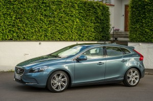 2012 Volvo V40 exterior left side