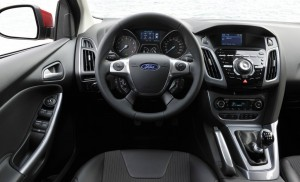 2012 Ford Focus interior driver cockpit