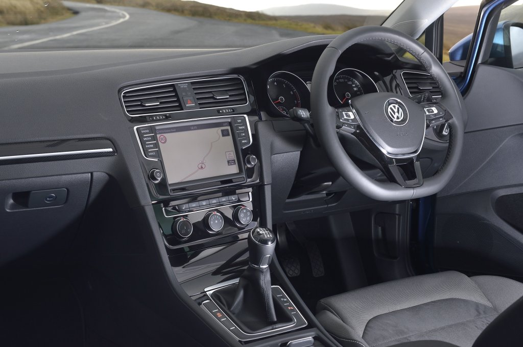 Vw golf 2013 interior