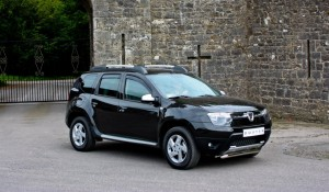 2012 Dacia Duster exterior side right static