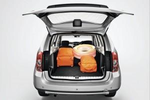 2012 Dacia Duster interior boot