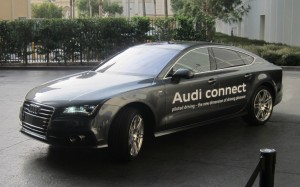 2013 CES Audi self-parking car