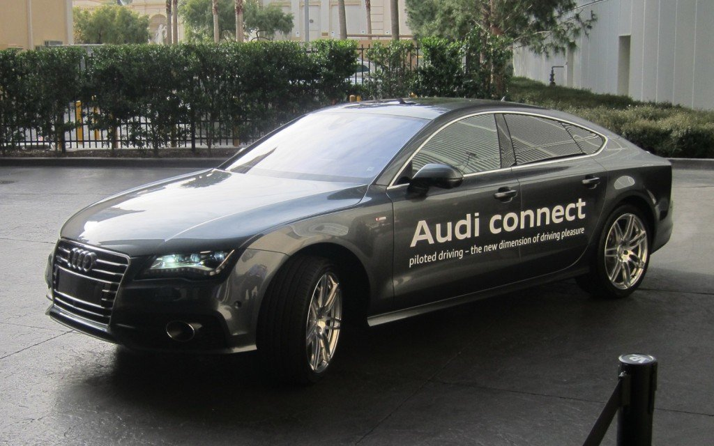 CES Outing For Audi Selfparking Car App - Audi self parking