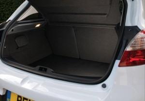 2013 Renault Megane GT Line interior boot