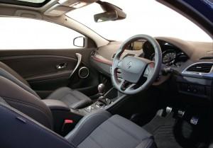 2013 Renault Megane GT Line interior cockpit