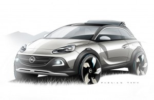 2013 Opel Adam Rocks exterior front left
