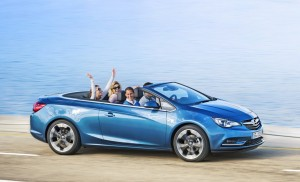 2013 Opel Cascada convertible exterior side right