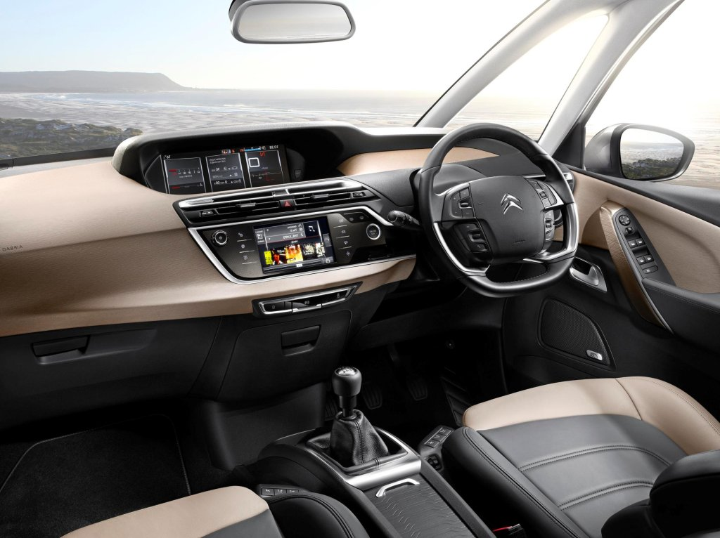New citroen c4 picasso revealed for C4 picasso 2013 interieur