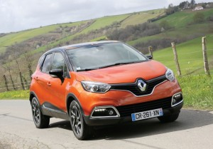 2013 Renault Captur exterior front right static