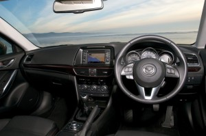 2013 Mazda6 Tourer interior cockpit
