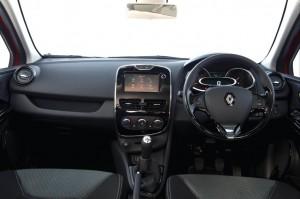 2013 Renault Clio interior cockpit
