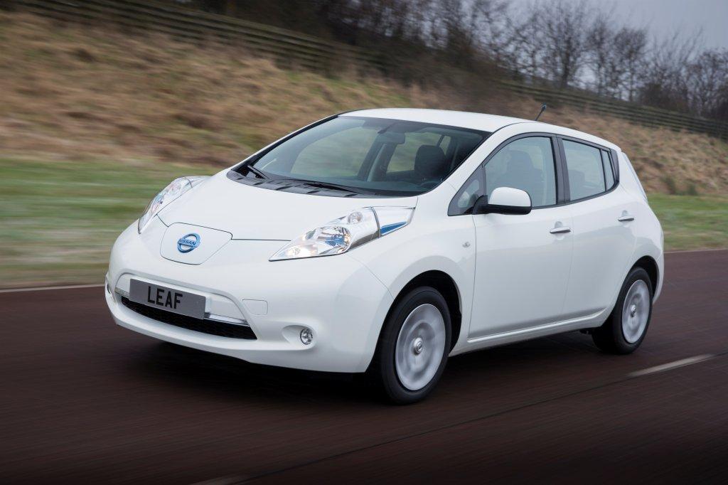 Delightful 2013 Nissan Leaf Exterior Front Left Dynamic