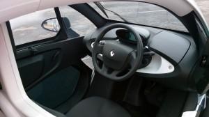 2013 Renault Twizy interior