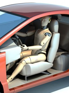 EuroNCAP crash test dummy