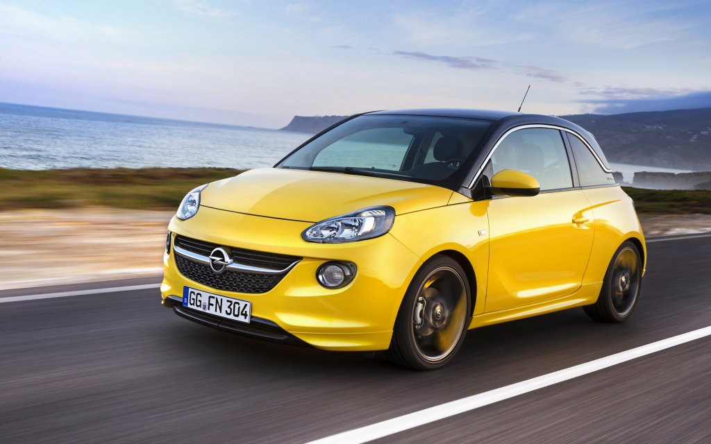 2013 Opel Adam exterior left front dynamic