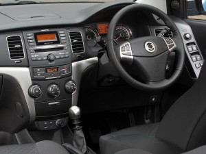 2013 SsangYong Korando interior cockpit