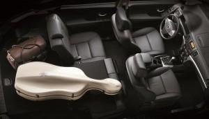 2013 SsangYong Korando interior seat split
