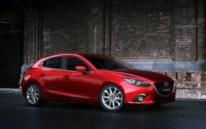 2013 Mazda Mazda3 exterior front right static
