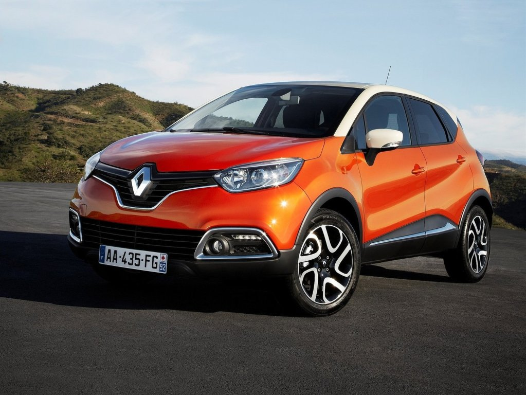 2013 Renault Captur exterior front left static