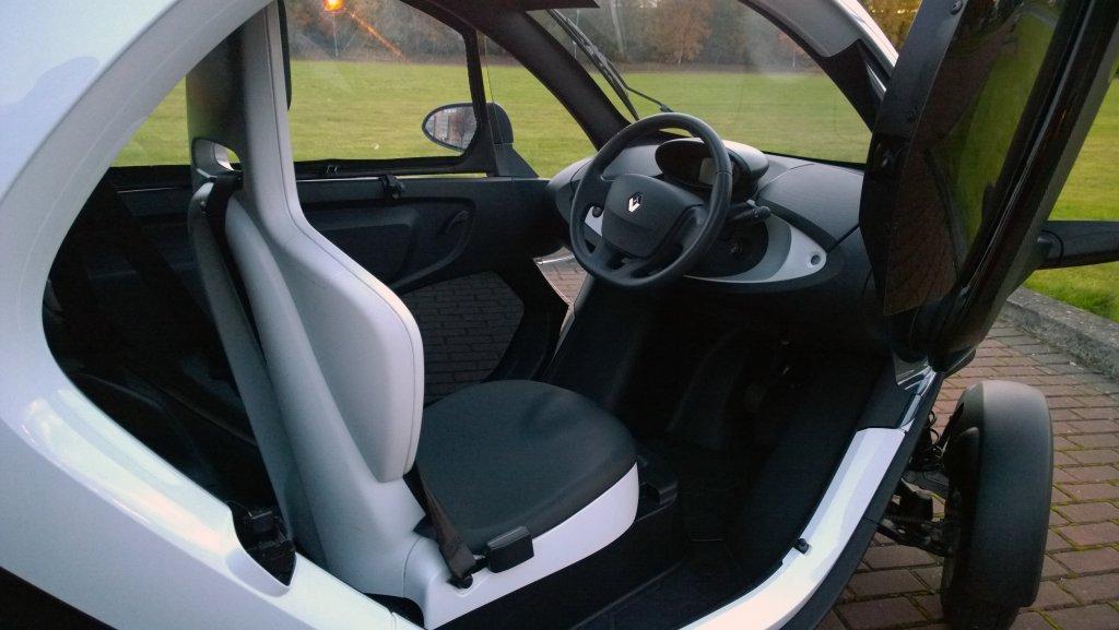 2017 Renault Twizy Interior