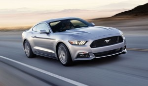 2014 Ford Mustang exterior front left dynamic