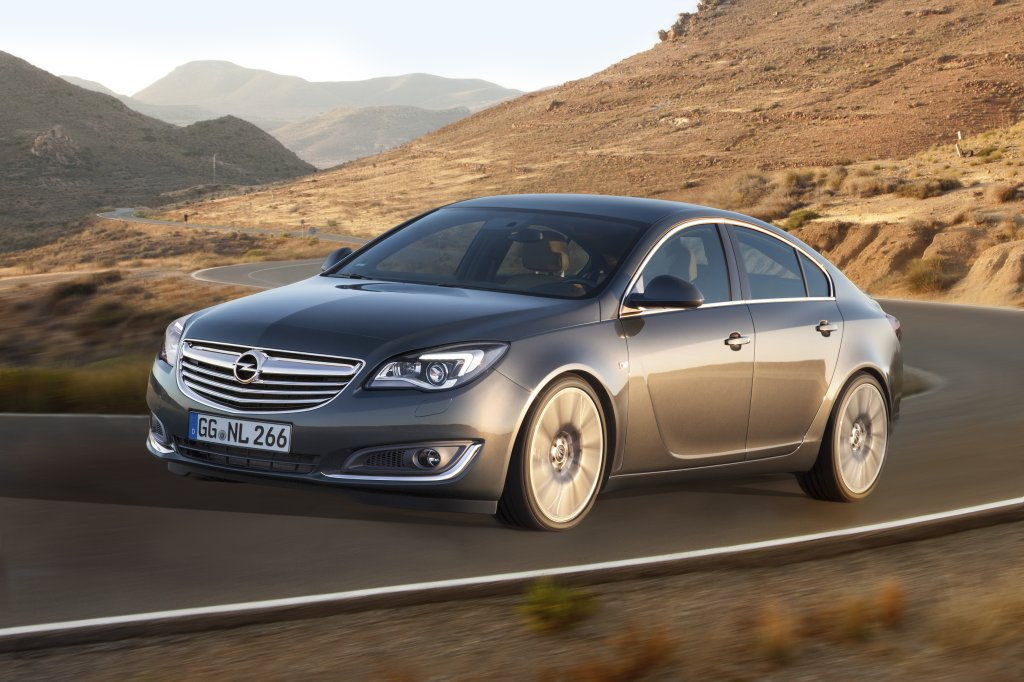 2013 Opel Insignia exterior front left dynamic