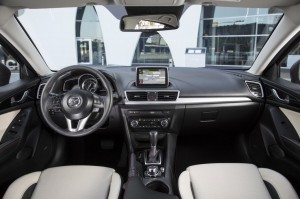 2014 Mazda3 hatchback interior cockpit