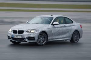 BMW self-drifting car CES 2014