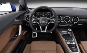 2014 Audi TT interior cockpit