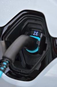 2014 Renault Zoe charging