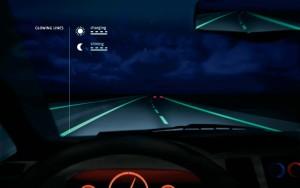 Smart Highway illuminated