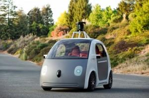 2014 Google self-driving car prototype