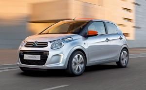 2014 Citroën C1 exterior front left dynamic
