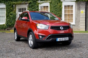2014 SsangYong Korando exterior front right static