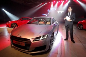 2015 Audi TT front left static preview Dublin