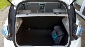 2014 Renault Zoe interior boot