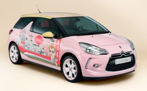 2014 Citroën DS3 DSign by Benefit concept exterior front right static