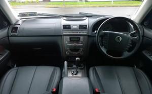 2014 SsangYong Rexton W interior cockpit