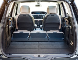 2014 Citroën Grand C4 Picasso interior boot all seats folded
