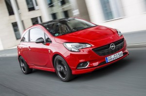 2014 Opel Corsa exterior front right dynamic