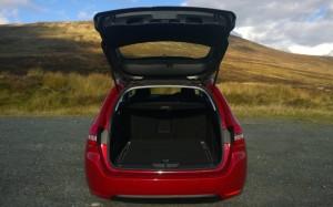 2014 Peugeot 308 SW exterior boot