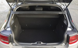 2014 Citroen C4 Cactus interior boot