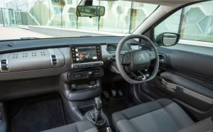 2014 Citroen C4 Cactus interior cockpit