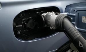 2014 Mitsubishi Outlander PHEV charging sockets