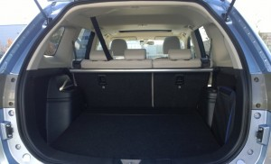 2014 Mitsubishi Outlander PHEV interior boot